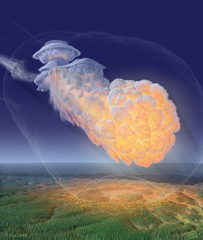 After the Dalai Lama - Beijing Is Doomed -Asteroid day - Tunguska event