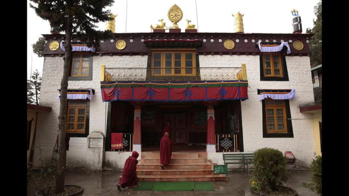 WHAT IS TIBET'S FUTURE?  TIBETAN BUDDHISM ATTRACTS MONKS FROM TIBET, NEPAL, AND INDIA TO LIVE AND STUDY IN MONASTERIES FROM YOUNG AGE.