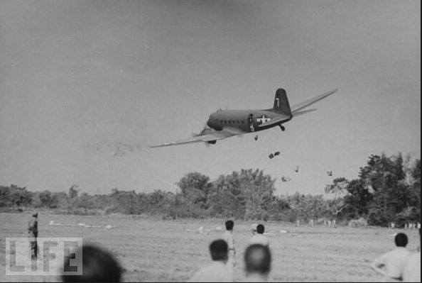 Special Frontier Force Reviews Hump Airlift Operation 1942 - 1945. Its legacy continues to this day. US Cargo planes used in Burma Drop supported the Tibetan Resistance Movement since 1948-49.