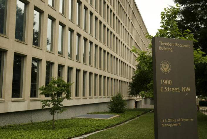 RED CHINA - RED ALERT - PUBLIC ENEMY NUMBER ONE -The U.S. Office of Personnel Management building in Washington June 5, 2015. In the latest in a string of intrusions into U.S. agencies' high tech systems, the Office of Personnel Management (OPM) suffered what appeared to be one of the largest breaches of information ever on government workers. The office handles employee records and security clearances.  REUTERS/Gary Cameron
