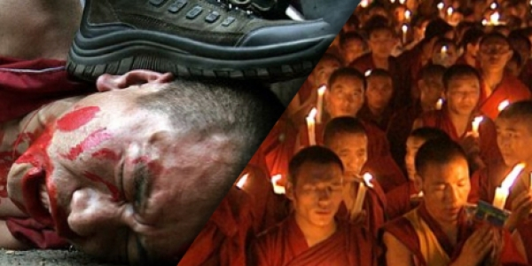 THE SUBJUGATION OF TIBET : RED CHINA'S ILLEGAL, AND UNJUST OCCUPATION OF TIBET IS A CRIME AGAINST HUMANITY.