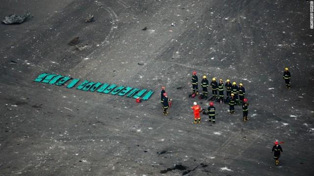 Apocalyptic Fire-Tianjin Blast-Cataclysmic Explosion