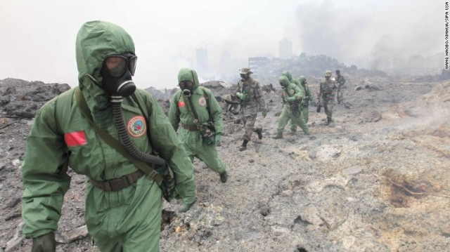 Apocalyptic Fire-Tianjin-National Nuclear Biochemical Emergency Rescue Team