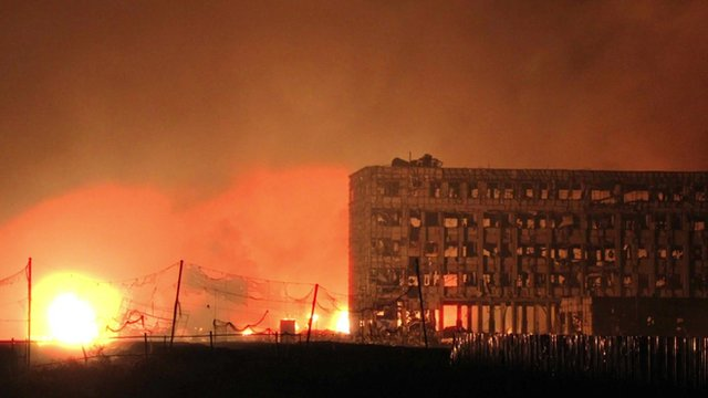 Doomsayer - Tianjin Explosion - Great Catastrophe.