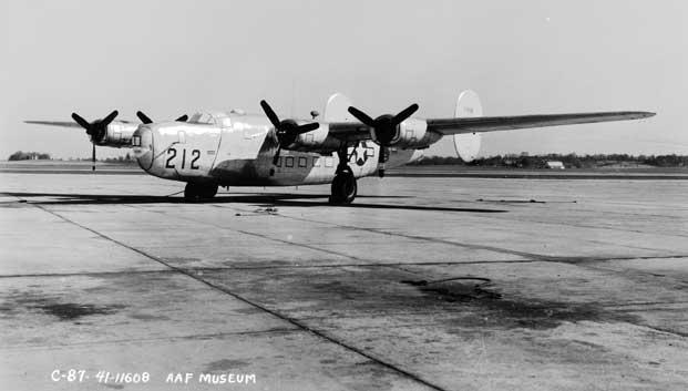 Special Frontier Force Reviews Hump Airlift Operations of 1942-1945. This US Transport Plane C-87 Liberator Express may have been used for a different operational purpose during Hump Airlift Operations of 1942-45.