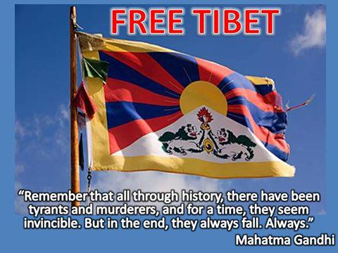 TIBET AWARENESS - TIBET IS NOT PART OF RED CHINA. THE GREAT PRPBLEM OF TIBET IS OCCUPATION BY FOREIGN POWER.