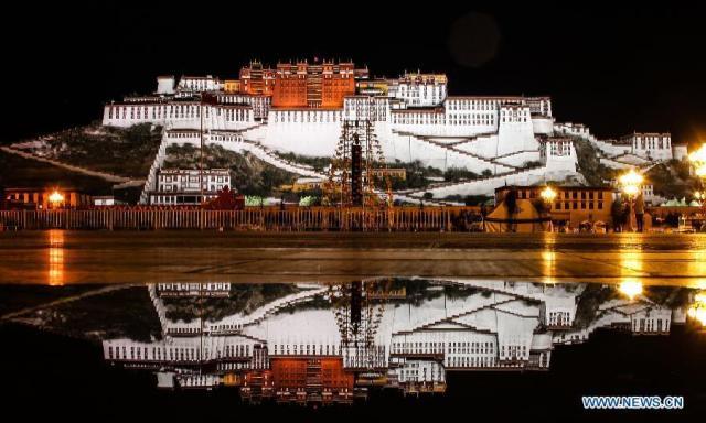 TIBET AWARENESS - POTALA PALACE, LHASA, TIBET  -  TIBET IS UNDER OCCUPATION.