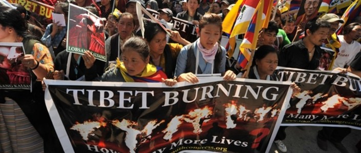 TIBET AWARENESS - NGABA - TIBET'S ROAD TO MARTYRDOM : TIBETAN SELF-SACRIFICE IS RESISTANCE TO TIBET'S MILITARY OCCUPATION. MARTYRS DEMAND NATURAL RIGHTS TO FREEDOM, AND OPPOSE SUPPRESSION BY A FOREIGN RULER.