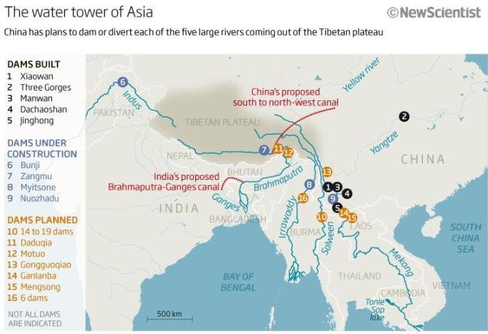Tibet Awareness - Red China - Looting and Plundering of Tibet. Diversion of River water. Ecological Disaster.
