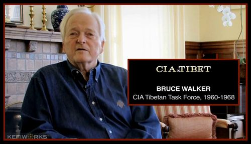 TIBET AWARENESS - PROJECT CIRCUS - BRUCE WALKER, OFFICIAL OF CIA.