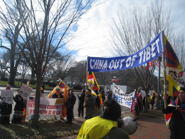 to viet nam january 19 2011 washington d c day2 protests against hu ...