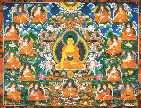 Tibet Awareness-17 Nalanda Masters