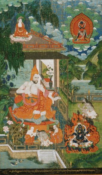 TIBET AWARENESS - THE GREAT MASTERS OF NALANDA. ACHARYA BHAVAVIVEKA.
