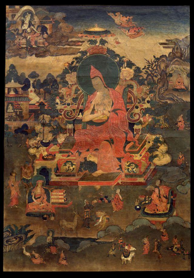 TIBET AWARENESS - THE GREAT MASTERS OF NALANDA. ASANGA.