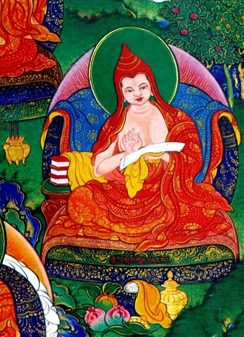 TIBET AWARENESS - THE GREAT MASTERS OF NALANDA. HARIBHADRA.