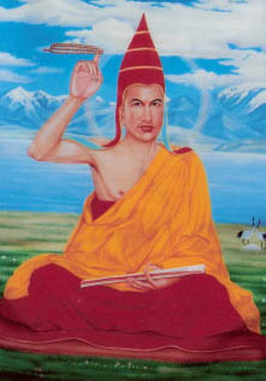 TIBET AWARENESS - THE GREAT MASTERS OF NALANDA. KAMALASHILA.