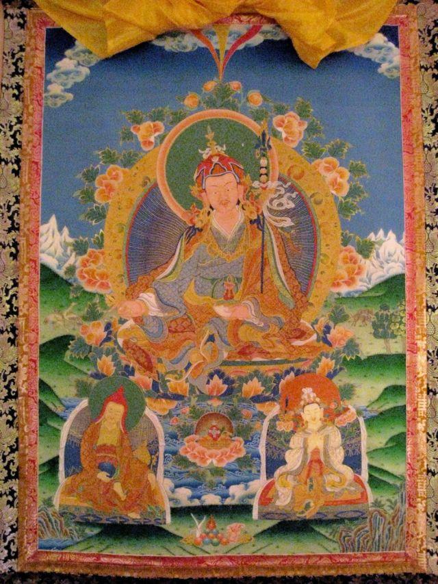 TIBET AWARENESS - THE GREAT MASTERS OF NALANDA. SHANTARAKSHITA.