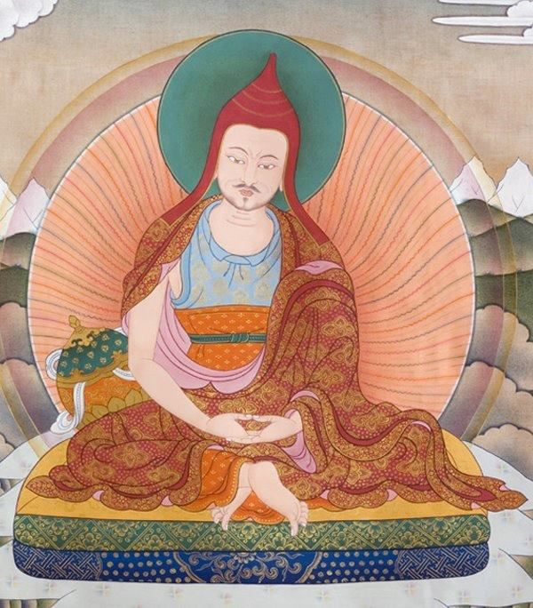 TIBET AWARENESS - THE GREAT MASTERS OF NALANDA. SHANTIDEVA.