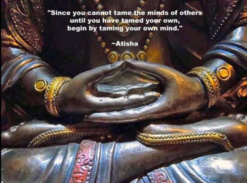 TIBET AWARENESS - GREAT MASTERS OF NALANDA. ATISHA.