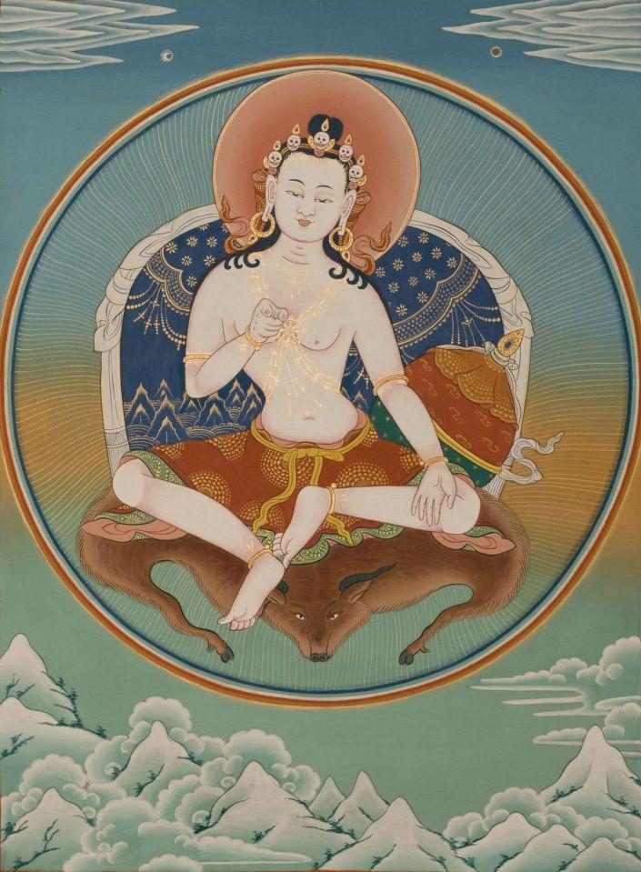 TIBET AWARENESS - THE GREAT MASTERS OF NALANDA. VASUBANDHU.