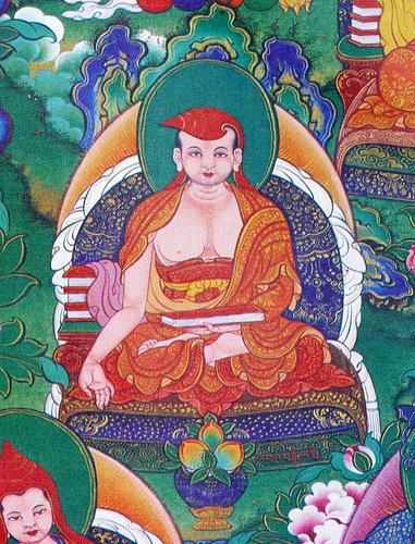 TIBET AWARENESS - THE GREAT MASTERS OF NALANDA. VIMUKTISENA.