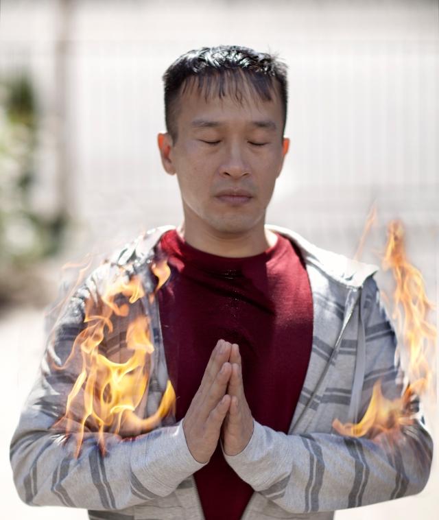 TIBET AWARENESS - TIBET BURNING - CAMPAIGN TO SAVE TIBET.