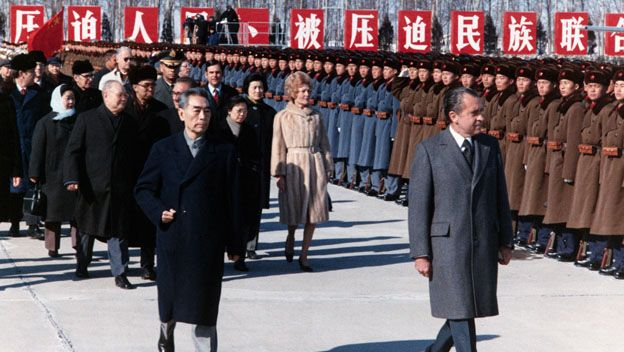 TIBET CONSCIOUSNESS - UNDYING HOPE FOR FREEDOM. US PRESIDENT NIXON'S VISIT TO COMMUNIST CHINA IS BLACK DAY TO FREEDOM.