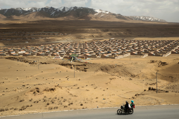 TIBET CONSCIOUSNESS - GLOBAL WARMING - CLIMATE ACTION. RED CHINA'S POLICY OF FORCED NOMAD RESETTLEMENT IN 'MODEL VILLAGES' WILL NOT SOLVE PROBLEMS CAUSED BY INDUSTRIAL POLLUTION.