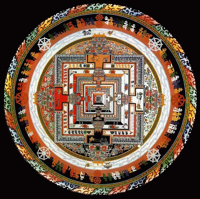tibetan buddhist mandala the drawings in this new goddard mandalas