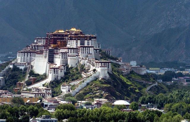 Tibet: China Destroys Ancient Buddhist Symbols Of Lhasa City.
