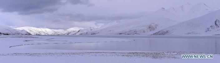 TIBET CONSCIOUSNESS - THE YAMDROK LAKE - LET IT SNOW - FREEDOM IS NEAR.