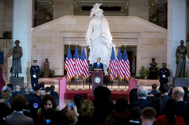 Social Security Act, Section. 202(y) violates the 13th Amendment. President Barack Obama delivers remarks at an event commemorating the 150th anniversary of the 13th Amendment abolishing slavery, at the U.S. Capitol in Washington, D.C., Dec. 9, 2015. (Official White House Photo by Lawrence Jackson)