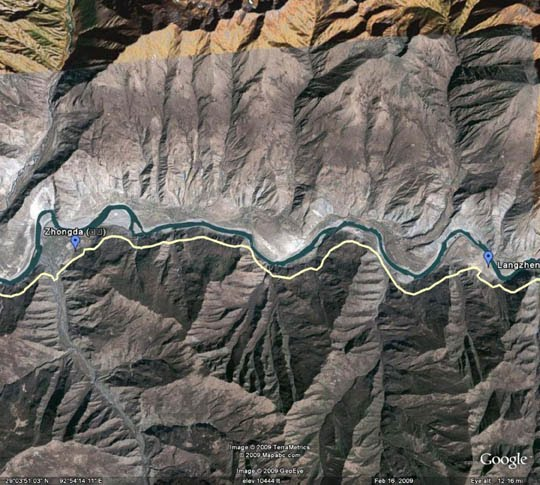 ... china begins building dam on image source china begins building dam on