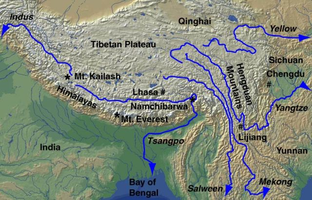 ... with Tibet is all about controlling Asia's water source for the future