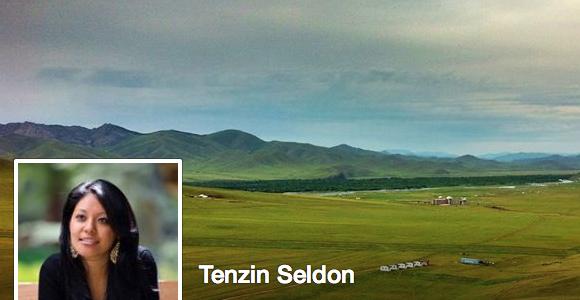 TIBET'S CULTURAL AMBASSADOR - GREETINGS TO TENZIN SELDON. PLEASE BEGIN YOUR DIPLOMACY AFTER DEFINING NATURAL BOUNDARIES OF TIBET.