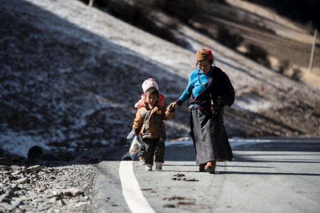 TROUBLE IN TIBET - RESETTLEMENT OF TIBETAN NOMADS.
