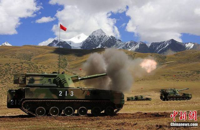 Modern Face of Trouble in Tibet. Ugly Face of Occupation.
