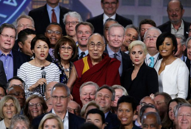 Trouble in Tibet - Walk The Talk - Red China's Road Block. His Holiness the Dalai Lama, Lady Gaga, and the U.S. Mayors held Talks at the U.S. Conference of Mayors in Indianapolis. The Talks are Over. Who is going to Walk The Talk???