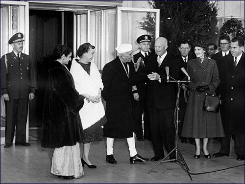 """In God We Trust"" - Special Frontier Force Trusts President Eisenhower. December 16, 1956 witnessed Trusting Relationship."