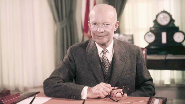 """""""In God We Trust"""" - Special Frontier Force Trusts President Eisenhower. Trust in God is Foundational Principle to define Foreign Policy."""