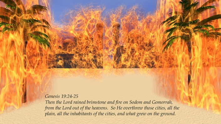 Beijing Is Doomed - Strike by Space Superpower. Genesis 19: 24-25. Burning of Sodom and Gomorrah.