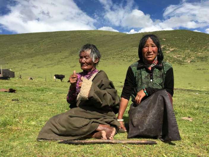 DEATH AND MISERY IN OCCUPIED TIBET.