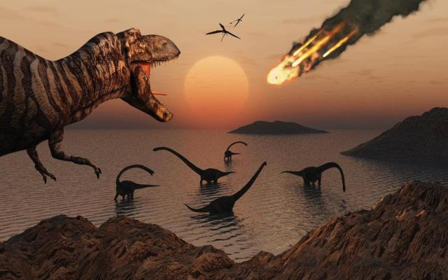 Downfall of Red Dragon - Regime Change By Bolide Impact. Refer to REVELATION, 18:1-24. Bolide Impact Dinosaur Extinction.