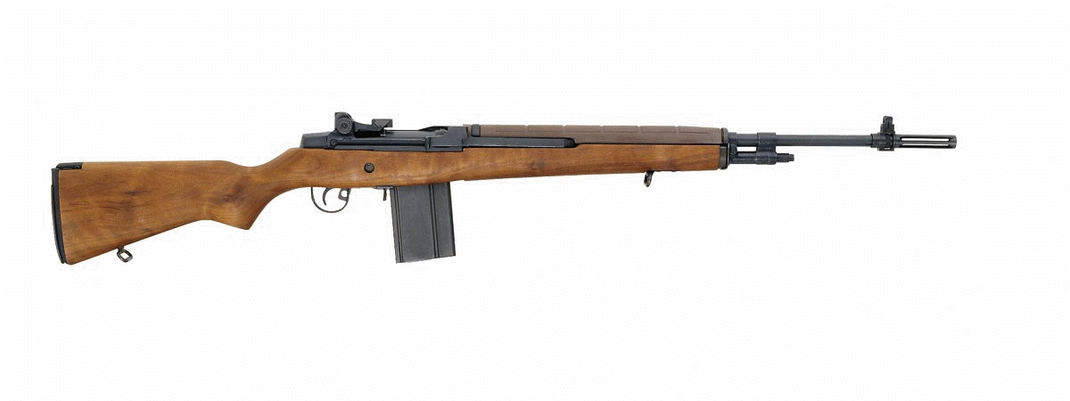Doomed Gun of Doom Dooma. Relic of Nixon-Kissinger Vietnam Treason. US Rifle M14.