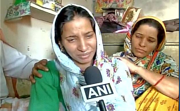 TRIBUTE TO INDIAN ARMY SEPOY MANDEEP SINGH. WIFE SHARES PAIN AND GRIEF.