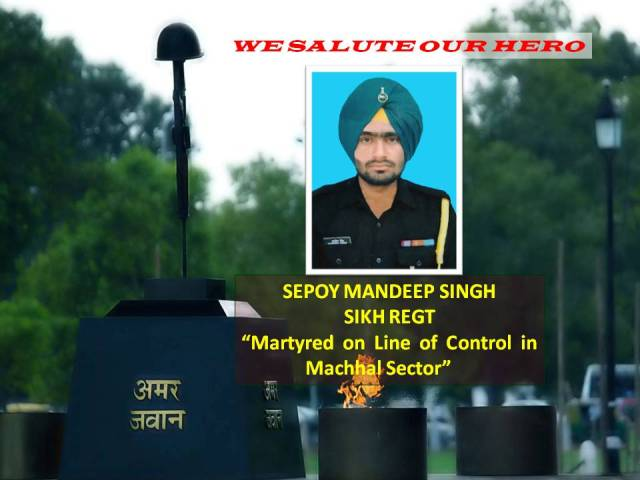 PAKISTAN IS EVIL - MUTILATION OF INDIAN ARMY SOLDIER WILL BRING HER DISASTER. TRIBUTE TO MARTYR MANDEEP SINGH.