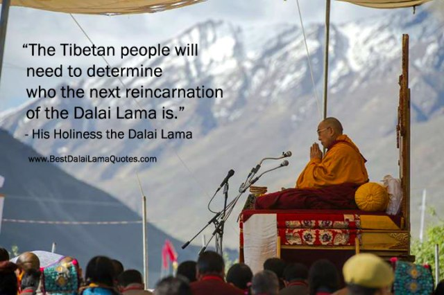 NO REINCARNATION OF DALAI LAMA WITHOUT FREEDOM IN OCCUPIED TIBET.
