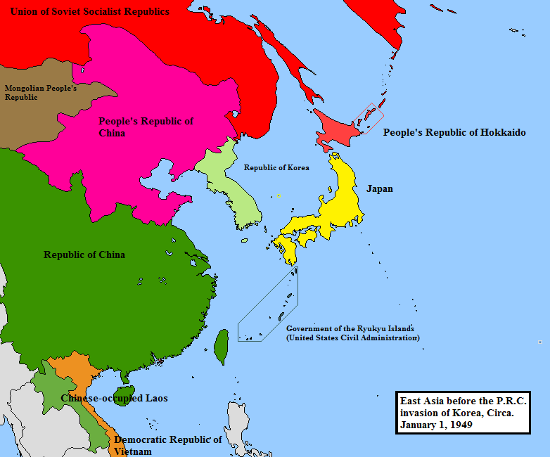 THE COLD WAR IN ASIA – THE BATTLE AGAINST SPREAD OF ...