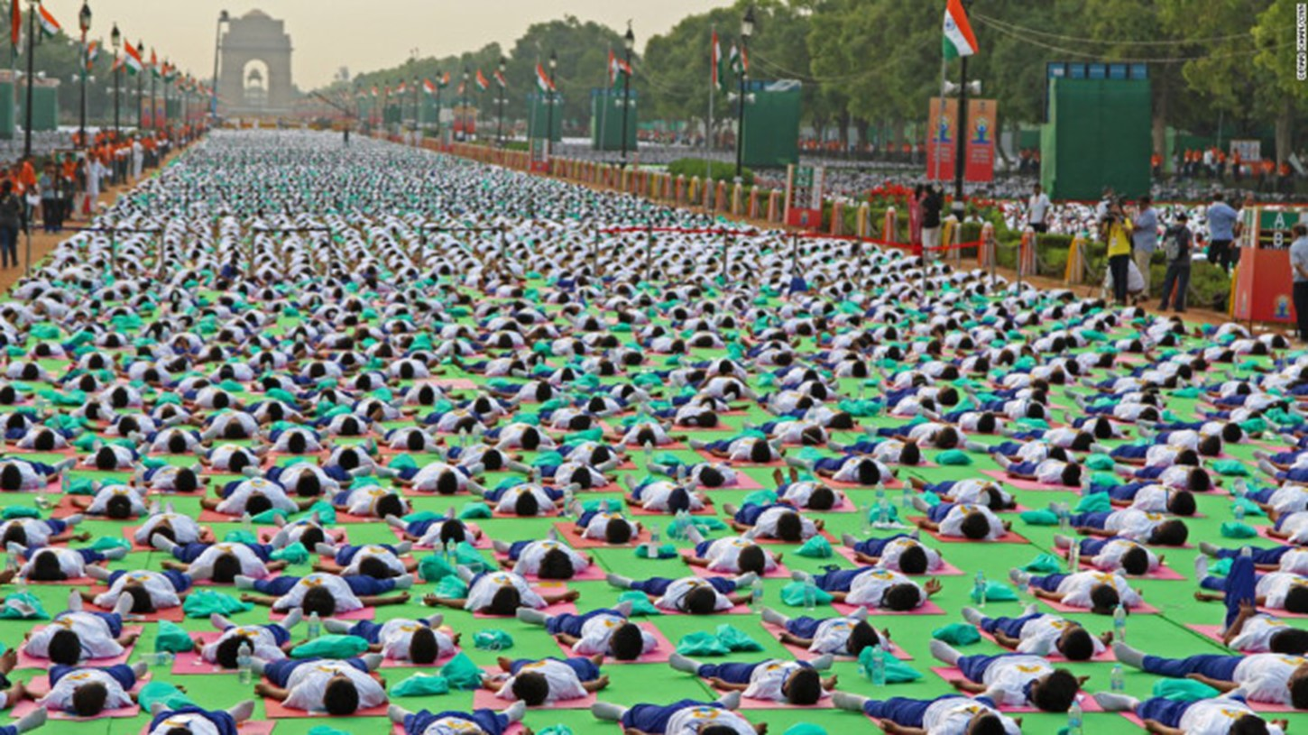 International Yoga Day U2013 Happy First Day Of Summer, Wednesday, June 21,  2017. 300,000 Indians Gather To Celebrate Yoga Day In Ahmedabad, India.