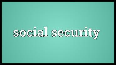social security 1935